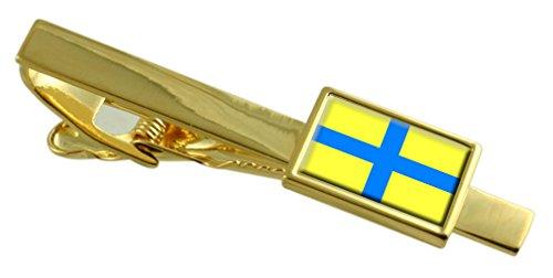Select Gifts Parma Città bandiera dell'Italia Gold Clip