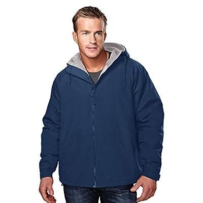 Men's Heavyweight Toughlan Nylon Hooded Jacket