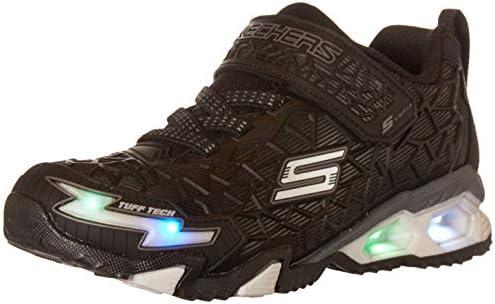 Skechers boys Lighted Lighs Lighted Sport Lighted Sneaker Black 11 Little Kid US product image