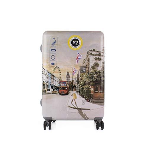 YNOT? Trolley Rigido Medio LONDRA 4 Ruote - TSA lock - PRC-1002 - cm. 44x65x25