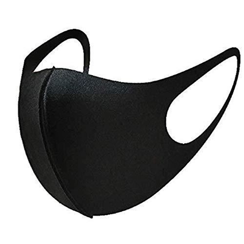 Gezondheid Cycling Face Mouth Mask 2 Stuks Katoen Masker Ademende Wasbare Herbruikbare Unisex Sponge Winter Warm Face Mask