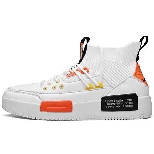 XIDISO Zapatillas de Hombre Moda Zapatillas de Deporte Zapatos Casuales para Caminar al Aire Libre