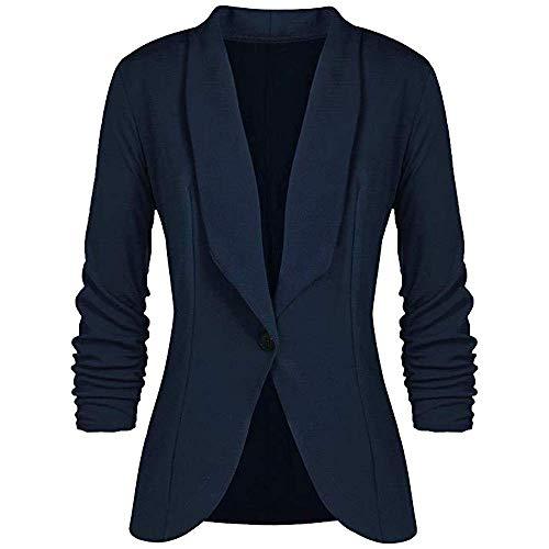 Dames Ol stijl driekwart mouw blazer jas pak modern elegante slanke mantel kort parka unieke gezellige overgang mantel