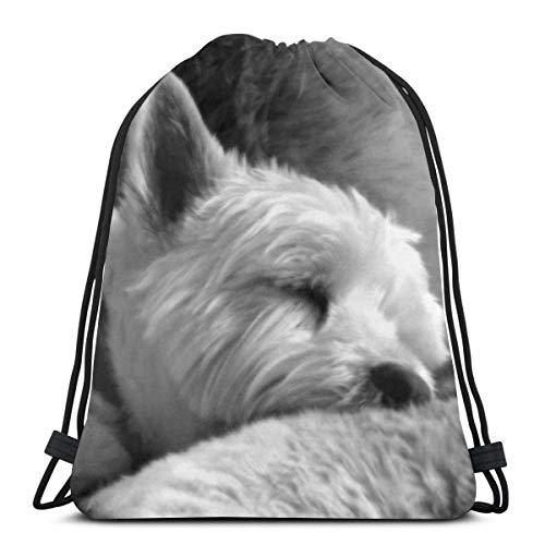 Bolsa de viaje con cordón cansado para perros