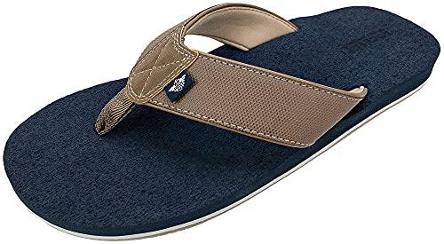 DOCKERS Men's Sandal Super Cushion Flip Flop, Size MD, Tan, Men's 9-10
