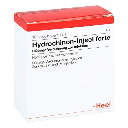HYDROCHINON Injeel forte Ampullen 10 St