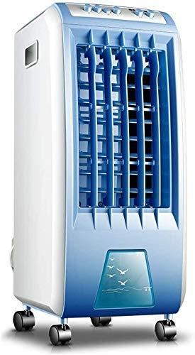 Kleine Klimaanlage Tragbare Conditioning Unit Kalt Ventilator bewegliche Klimaanlage Verschiedene Szenen Fernkühlregelung Ventilator-Luft-Reinigung Movable-Lüfter Weiß ANGANG