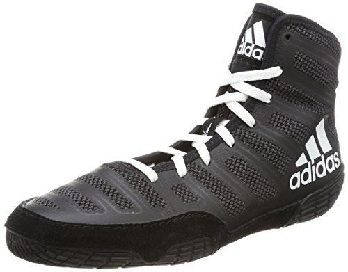 adidas Herren Adizero Varner Multisport Indoor Schuhe, Schwarz (Black BA8020), 41 1/3 EU