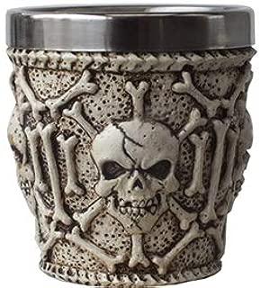スカルグッズ・スカル&ボーン ショットグラス Ossuary Skull Shot Glass