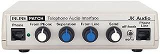 JK Audio Inline Patch Telephone Audio Recorder Interface