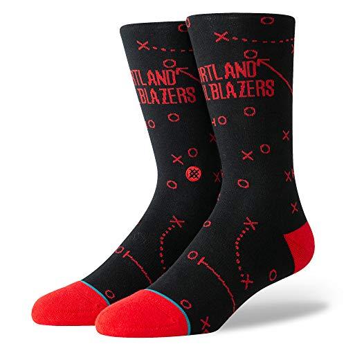 Stance Herren Trailblazers Playbook Socken, Black, M