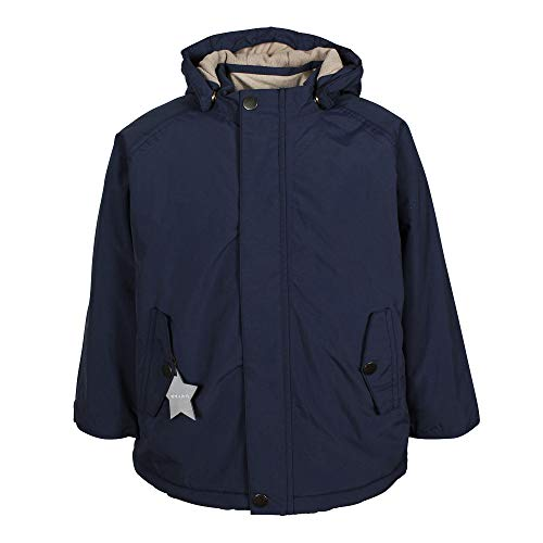 MINI A TURE Kinder Winterjacke Wally 19 Peacoat blau, Größe:92 cm/1-2 Years