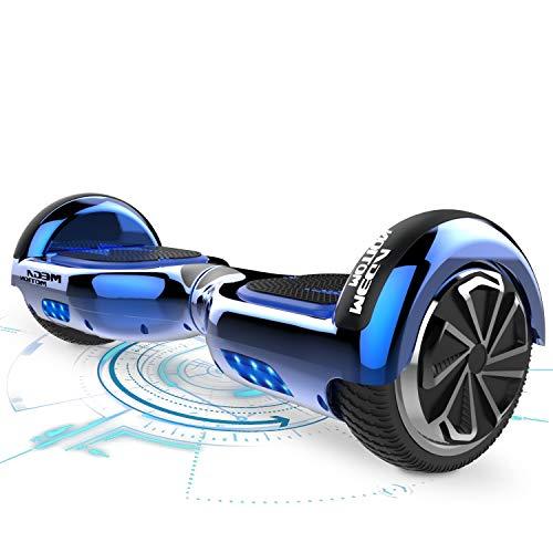 """MARKBOARD Hoverboards Selbstausgleichender Roller 6,5 \""""Selbstausgleichendes Hoverboard mit Bluetooth-Lautsprecher und LED-Lichtern Elektroroller Kinder zwischen 8 und 12 Jahren"""