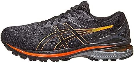 ASICS Men's GT-2000 9 G-TX Running Shoes, 12, Black/Marigold Orange