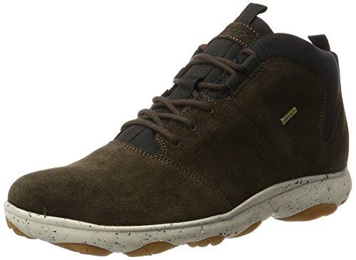 Geox Jungen U NEBULA 4 X 4 B ABX A Hohe Sneaker, Braun (Chestnut), 42 EU
