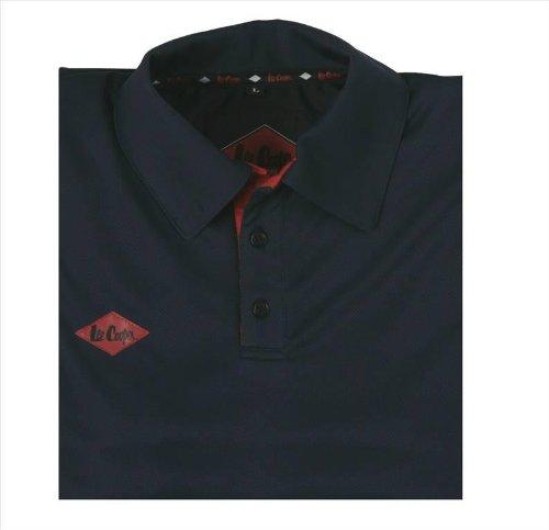 Lee Cooper Workwear LCPNT210–Technical Maglietta Polo da uomo, M, blu marine, LCTS003