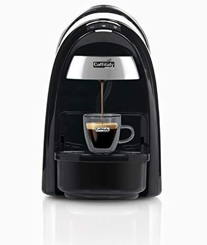 Caffitaly Diadema S16 - Macchina da caffè (Nero) + Kit 50 Capsule Incluse