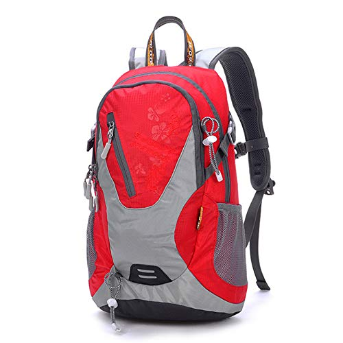 YALIXI Cycling Backpacks, Leisure Nylon Water Repellent Shoulder Outdoor Sports Backpack,Red