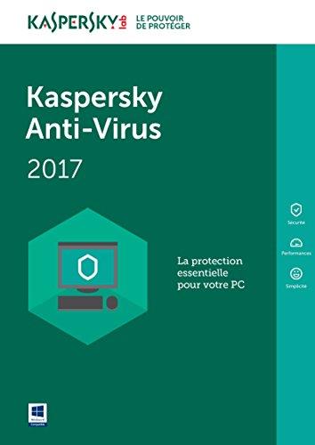 Kaspersky Anti-Virus 2017 | 5 postes | 2 ans | PC | Téléchargement