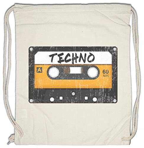 Urban Backwoods Tape Techno Turnbeutel Sporttasche