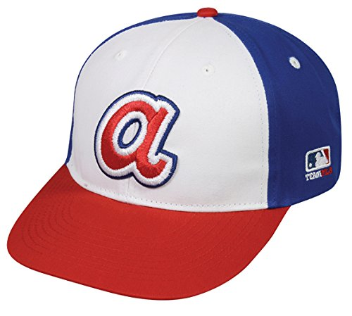 OC Sports MLB Licensed Cooperstown Adult Atlanta Braves Hat