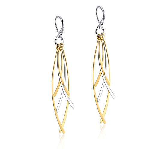Dangle Drop Earrings naar Vrouwen, Tassel Kruis Leaf roestvrij staal Stud oorbellen cadeau voor Verjaardag Wedding Party Valentine