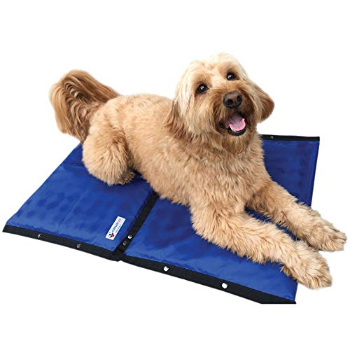 CoolerDog Dog Cooling Pad Dog Cooling Products Hydro Cooling Mat 2 Pack for Large Dogs