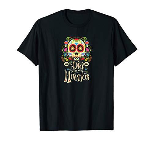 Dia De Los Muertos Mexikanischer Zuckerschadel Calavera T-Shirt