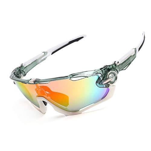 H-O Motorradbrille in Sehstärke Sonnenbrille Unisex Schutzbrille Beschlagfrei,R