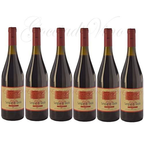 6 bottiglie SANGUE DI GIUDA O. Pavese Villa Maggi