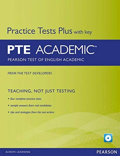 Pearson Test of English Academic Practice Tests Plus and CD-ROM with Key...
