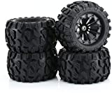 RC Station 12mm Hex RC Wheels and Tires 1/10...