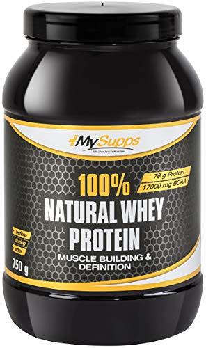 My Supps Whey Protein - ohne Süßstoffe - 100% Molkenkonzentrat - 2kg