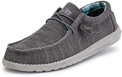 Hey Dude Men s Wally Sox Charcoal Size 11 product image