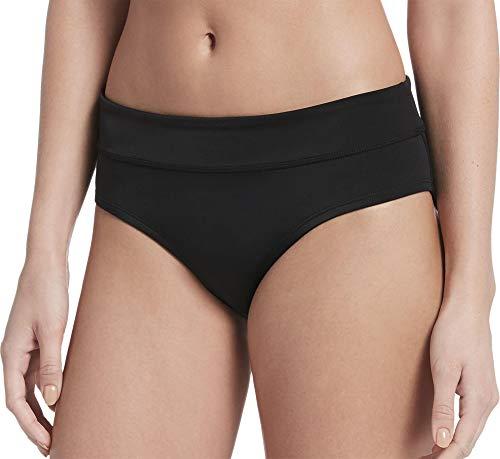 Nike Womens Hipster Active Swim Bottom Separates Black XL