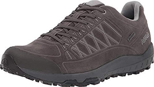 Asolo Women's Grid GV Leather Hiking Shoe Beluga 10 & Knit Cap Bundle