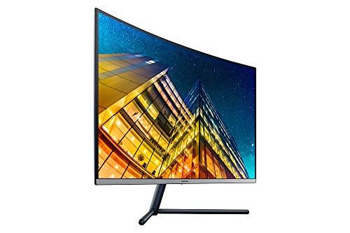 Samsung U32R592CWU Curved UHD Monitor, 80.1 cm (32 Inch) Screen Size, 4K Display