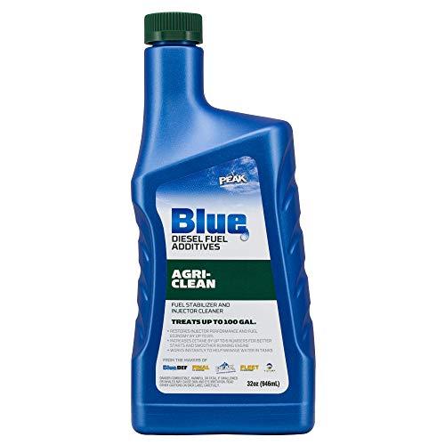 PEAK Blue 32 Ounce Agri-Clean Liquid Fuel Stabilizer Additive for Diesel Engines