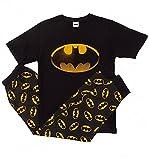 Conjunto de pijama con logotipo de Batman para hombre y niño,...