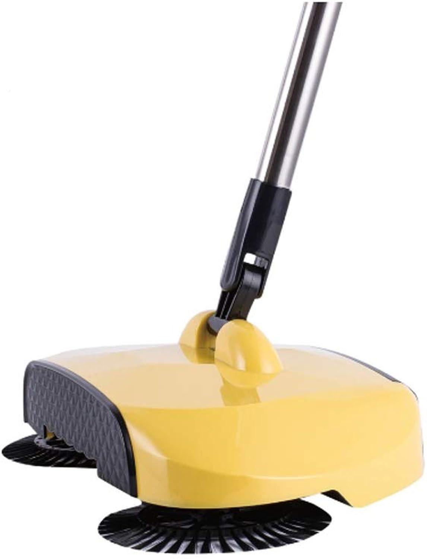 Barrojoora Perezosa Empujar a Mano Limpiar el Piso del Barrido recogedor de Polvo Traje No Use Electricidad Adecuado para el hogar 27  6  18cm,F