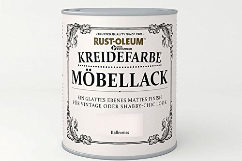 RUST-OLEUM 14000.DE.0.75 Kreidefarbe DOSE 750ml kalkweiss