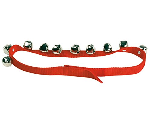 Betzold 8857 - Körperband - Glockenband Schlittenglocken Schlittenglockenband, Musikunterricht