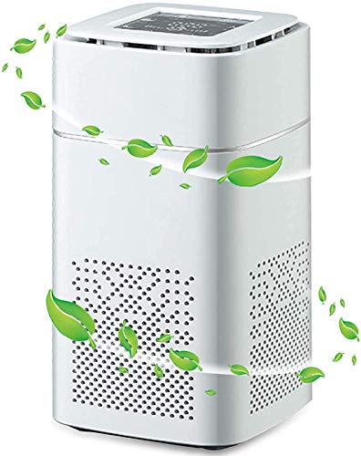 LINTRY Air Purifier for Home with True HEPA Filter, Air Cleaner Purifiers for (99.97%) Allergies, Dust, Pollen and Pets Smokers Pollen Dust, Odor Eliminators for Home Bedroom, 20㎡