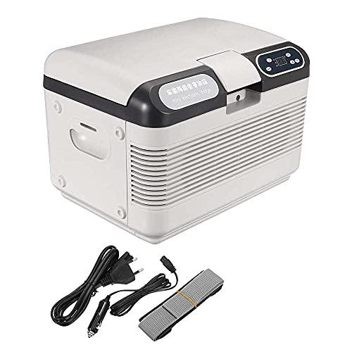 Peakfeng 12L 75W Mini refrigerador refrigerador y refrigerador más cálido con Pantalla LED Coche Dual Uso Dual Uso Menos Ruido Viajes ecológicos 41.5 * 28 * 28 cm