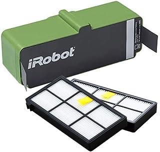 【純正品】アイロボット ルンバ980専用 リチウムイオンバッテリー と 900シリーズ互換フィルター(2個)セット (980専用)