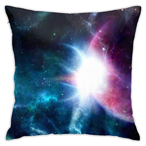 HPOFKEOEF Fantasy Star Galaxy Economical Family Pillow Case Office Sofa Decoration Pillow Case Without Pillow 18x18 Inch