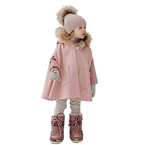 Luckyee Winterjacke für Jungen und Mädchen,2-12 Jahre Kleinkind Baby Kinder...