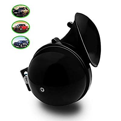 Carfka Snail Horn for Truck Car, Electric 12v Loud Horns for Pickup,Vehicles, Simple to Install, Motorcycle Jeep SUV Lorrys Boats