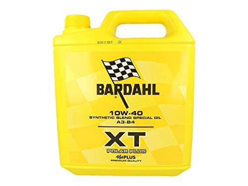 Bardahl XT Polar Plus 10W40 - Aceite lubricante para Motor de bidón de 5 litros