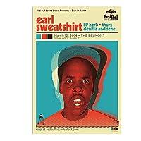 アールスウェットシャツアメリカンオブオッドフューチャーヒップホップミュージックペインティングアートポスタープリントキャンバス家の装飾写真ウォールプリント-60x80cmフレームなし